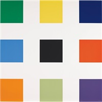 nine squares by ellsworth kelly