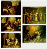 la adoración de los reyes by matías arteaga y alfaro