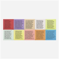 inflammatory essays (set of ten) by jenny holzer