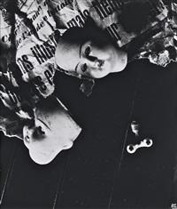 sin ilusión, parís mercado de las pulgas, 1957 by ilse bing