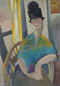 Femme au chapeau cloche, 1919