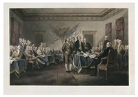 declaration of independence july 4th by john trumbull