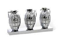 three hand grenades (in 3 parts) by clive barker