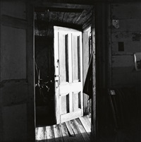 robert frank's nova scotia farm door by walker evans