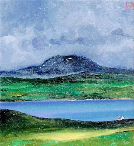 view toward the mountain by david gordon hughes
