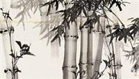 竹林图 by huang zhou