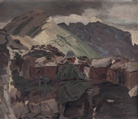 verschanzung am monte pasubio by hans hilber