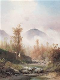 paesaggio a san miniato by guido agostini