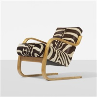 cantilever chair, model 34/402 by alvar aalto