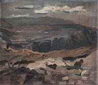 verschanzung von soldaten im hochgebirge by hans hilber