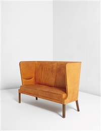 high-backed sofa by frits henningsen