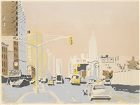 sixth avenue ii by fairfield porter