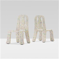 queen anne chairs (pair) by robert venturi