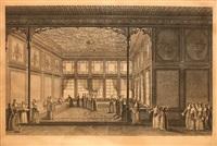 harem (topkapi palace) by antoine ignace melling