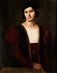 portrait eines jungen mannes by bernardino licinio