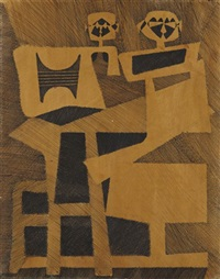 abstract figures by roberto diago