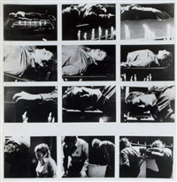 mise en condition stadler-paris, action n°1, 11.1.73 by gina pane