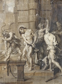 the flagellation by erasmus quellinus the younger