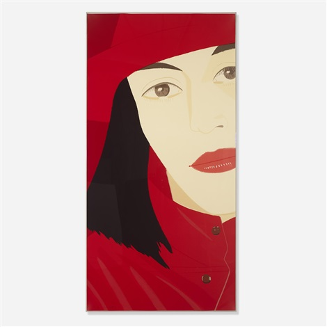 red coat by alex katz