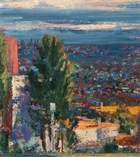 view of downtown by larry cohen