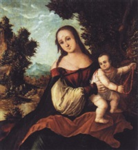 the madonna and child by danube school (16)