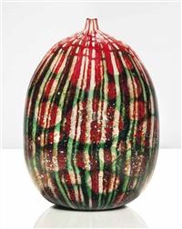 unique strisce e macchie sommerse vase by yoichi ohira