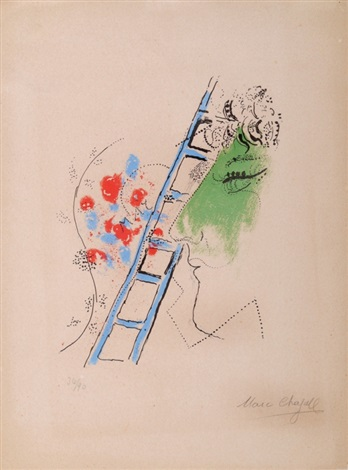 léchelle by marc chagall