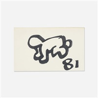 untitled (radiant baby) by keith haring