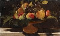 pfirsiche, trauben und äpfel in einer schale by anonymous-italian (17)