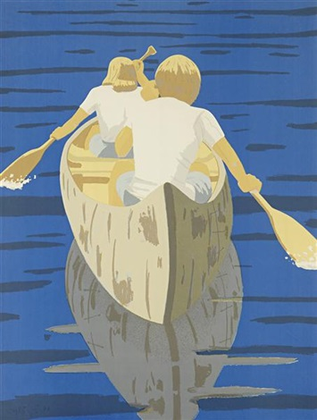 good morning by alex katz