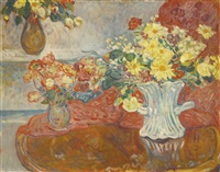 la table aux bouquets by louis valtat