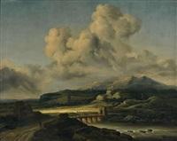 le coup de soleil, d'après jacob van ruysdael by georges michel