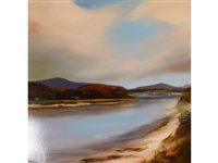 devon estuary by michael ashcroft