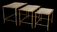 nesting side tables (set of 3) by victor bagues