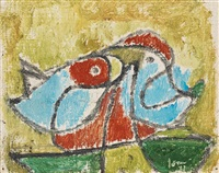 untitled by asger jorn