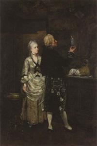 the connoisseur by edmond andre