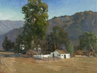 the dairy - nye property, santa ana road, ojai by meredith brooks abbott