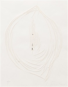 artwork by lucio fontana