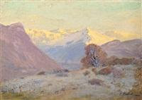 automne au pied de la montagne by theodore emile achille