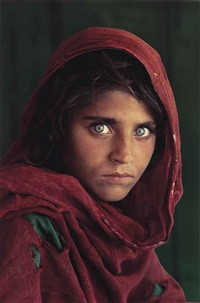afghan girl, sharbat gula, peshawar, pakistan by steve mccurry