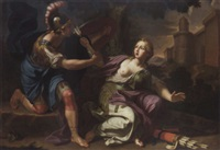 armida restrained by rinaldo by gaetano lapis