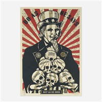 uncle scam by shepard fairey