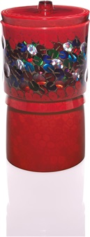 unique vase, model no. 2 (from the caleidoscopio series) by yoichi ohira
