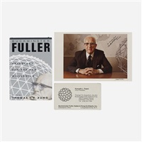 collection of ephemera by buckminster fuller