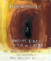 höhlenmenschen (poster design) by thomas lange