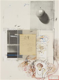 natural history part i mushrooms: no. viii by cy twombly