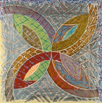 polar co-ordinates i (from polar co-ordinates for ronnie peterson) by frank stella