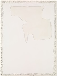 untitled, from: serie rosa by lucio fontana
