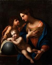 maria mit dem kind und dem johannesknäblein by anonymous-italian (17)
