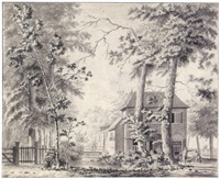 view of copper mills near amersfoort by jordanus hoorn
